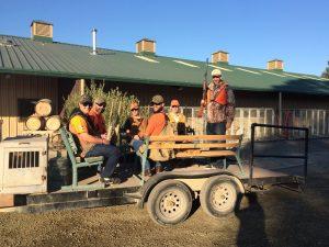 sport hunting team building