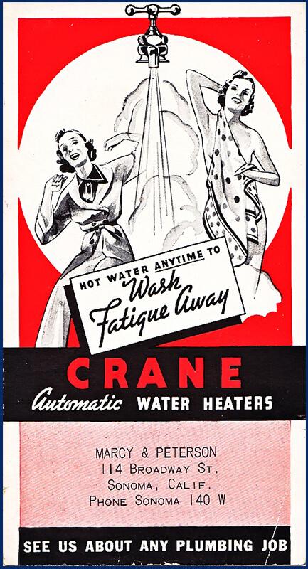 vintage water heater advertisement