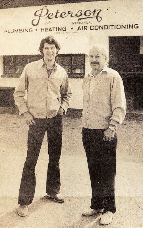 staff members circa 1970s