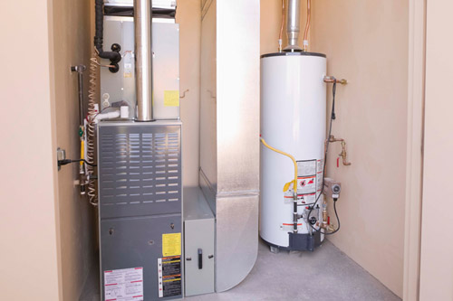 home furnace and water heater